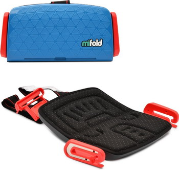 Автокресло Mifold the Grab-and-Go Booster seat Denim Blue синий MF 01-EU DBL