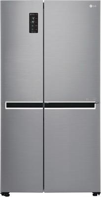 Холодильник Side by Side LG GC-B 247 SMUV серебристый холодильник lg gc b519pmcz серебристый