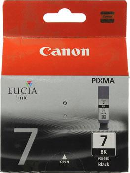 Картридж Canon PGI-7Bk 2444 B 001 Чёрный