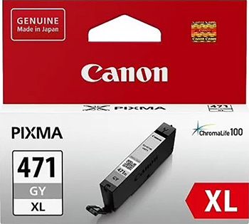 Фото - Картридж Canon CLI-471 XL GY 0350 C 001 Серый утюг braun si 3054 gy