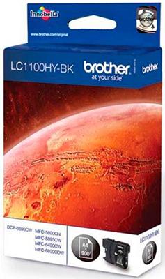 Картридж Brother LC 1100 HYBK черный