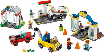 Конструктор Lego City Town 60232 Автостоянка