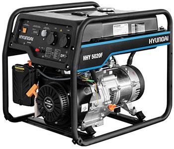 Электрический генератор и электростанция Hyundai HHY 5020F hyundai matrix расход топлива