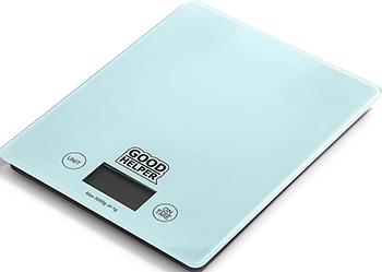 Кухонные весы GoodHelper KS-S04 голубые цена и фото
