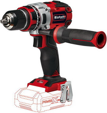 Дрель Einhell PXC TE-CD 18 Li Brushless-Solo 4513850 недорого