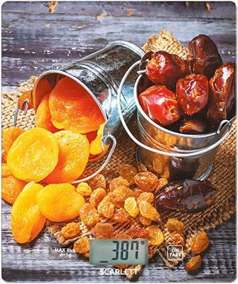 лучшая цена Кухонные весы Scarlett SC-KS57P33 сухофрукты