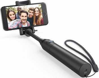 Монопод ANKER Bluetooth Selfie Stick черный цена