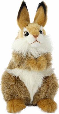 Мягкая игрушка Hansa Creation Коричневый кролик 7449 hansa fceb53000 коричневый