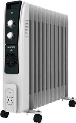 Масляный электрический радиатор Hyundai, H-HO-10-11-UI655_белый, Китай  - купить со скидкой