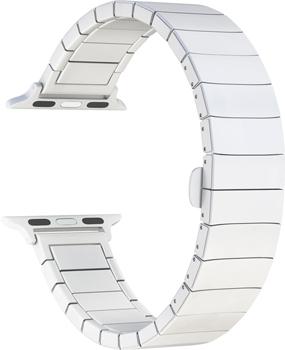 цена на Ремешок для часов Lyambda для Apple Watch 42/44 mm LIBERTAS DS-APG-06-44-WH White