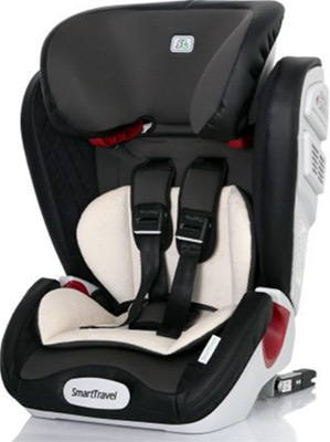 Автокресло Smart Travel Magnate ISOFIX Smoky 1-12 лет 9-36 кг группа 1/2/3 KRES2070