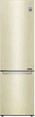 Двухкамерный холодильник LG GA-B 509 SECL бежевый