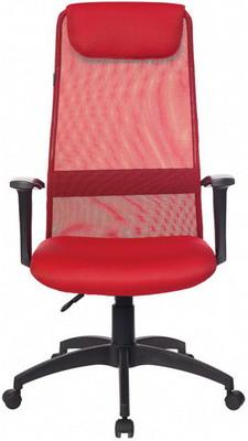 Кресло Бюрократ KB-8N/R/TW-97N красный кресло компьютерное бюрократ kb 9 eco