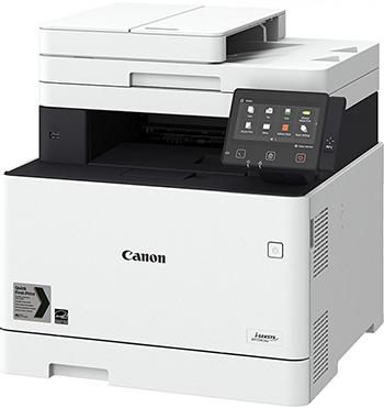 Фото - МФУ Canon i-Sensys Colour MF744Cdw WiFi белый/черный мфу лазерный canon i sensys colour mf746cx 3101c039 a4 duplex wifi белый черный