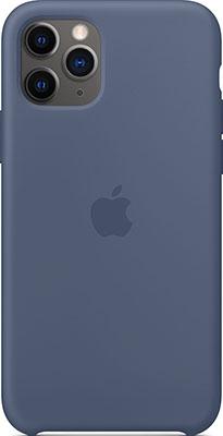 Чехол силиконовый Apple Silicone Case для iPhone 11 Pro цвет (Alaskan Blue) морской лёд MWYR2ZM/A