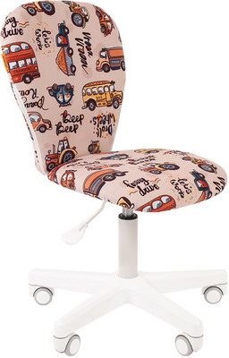 Кресло Chairman Kids 105 ткань автобус 00-07033043 кресло chairman kids 105 ткань нло