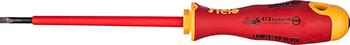 Диэлектрическая отвертка Felo Ergonic плоская шлицевая 3 5X0 6X100 41303590 отвертка felo ergonic плоская шлицевая 5 5x1 0x150 40055510