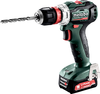 Дрель-шуруповерт Metabo PowerMaxx BS 12 BL Q (601039500) metabo powermaxx bs 12 bl 601038500