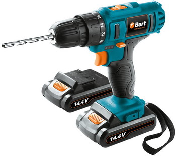 Дрель-шуруповерт Bort BAB-14Ux2Li-FDK 98296792 cordless drill bort bab 108nx2li fdk