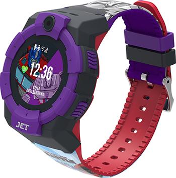Детские часы с GPS поиском JET KID Transformers Megatron vs Optimus Prime jet kid smart синий