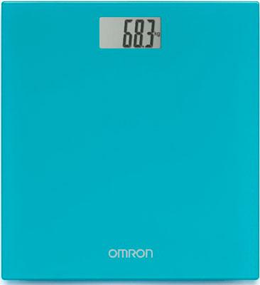 Весы напольные OMRON персональные цифровые HN-289 (HN-289-EB) бирюзовые недорого