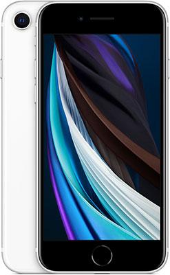 Смартфон Apple iPhone SE (2020) 64Gb белый (MX9T2RU/A)
