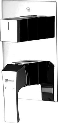 Смеситель для ванной комнаты Lemark Unit LM4528C для ванны и душа встраиваемый смеситель для ванны с подключением душа lemark unit lm4527c однорычажный встраиваемый