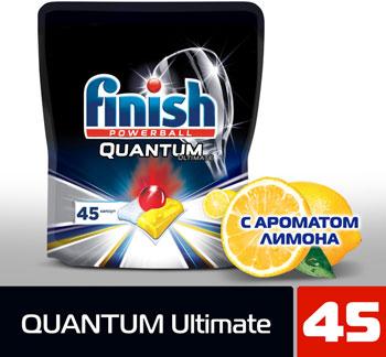 Капсулы FINISH 3120239 45 шт дойпак Quantum Ultimate лимон недорого