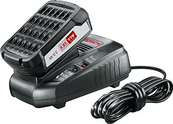 Фото - Комплект аккумулятор и зарядное устройство Bosch PBA 18 2.5 А*ч+AL1830 1600A00K1P аккумулятор для bosch li ion любые инструменты и зарядные устройства bosch класса 18 в