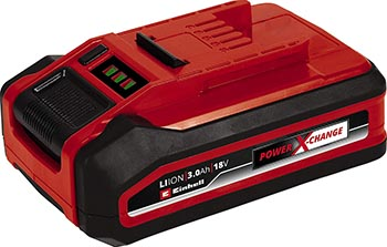 Аккумулятор Einhell PXC 18В 3 Ач Plus аккумулятор einhell pxc 18v 4 6 ah pxc plus