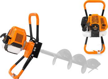 Мотобур (бензобур) Carver AG-52/000 бытовой 2-х такт. (01.003.00011)