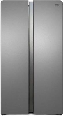 Холодильник Side by Side Ginzzu, NFK-615 серебристый, Китай  - купить со скидкой