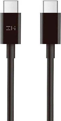Фото - Кабель Xiaomi Type-C/Type-C ZMI 150 см 100W 5A (AL308E) техпак черный беспроводное зар устр upvel 1 5a