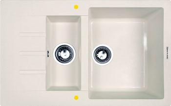 Кухонная мойка Zigmund & Shtain RECHTECK 775.2 индийская ваниль zigmund amp shtain rechteck 775 индийская ваниль