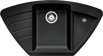 Кухонная мойка Zigmund amp Shtain ECKIG 900 черный базальт