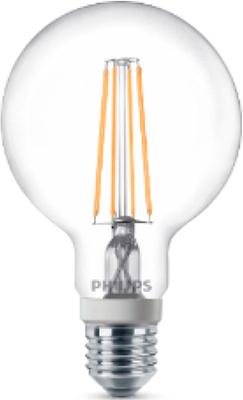 Лампа Philips LEDClassic 7-70 W G 93 E 27 WW CL D philips g