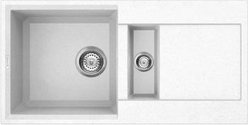 Кухонная мойка OMOIKIRI Sakaime 86-2-WH Tetogranit/белый (4993129)