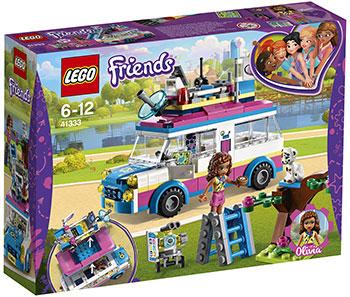 Конструктор Lego Передвижная научная лаборатория Оливии LEGO Friends 41333