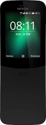 Мобильный телефон Nokia 8110 4G Dual Sim черный