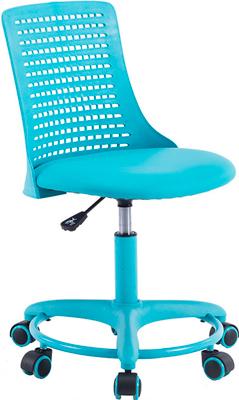 Кресло Tetchair Kiddy ткань (сетка) пластик бирюзовый