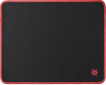 Коврик для мышек Defender Black M 50560 коврик игровой defender black xxl 400x355x3 мм ткань резина