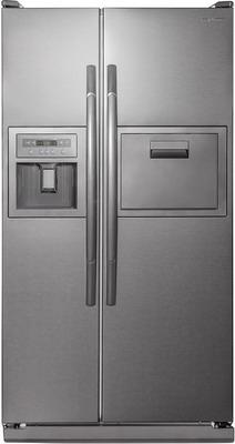 лучшая цена Холодильник Side by Side Daewoo FRS 6311 SFG серебристый