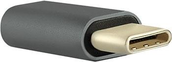 Фото - Переходник Red Line Micro USB-Type-C пластик черный red valentino черный джемпер в полоску
