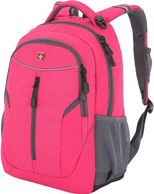 Рюкзак для города Wenger розовый/серый полиэстер 600D/420D 32x15x45 см 22 л 3020804408-2 рюкзак городской wenger 26 л серый серебристый 34х16х48см
