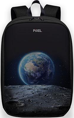 Рюкзак с LED-дисплеем Pixel MAX - BLACK MOON чёрный (PXMAXBM01) рюкзак otranto black rubino 6005 черный