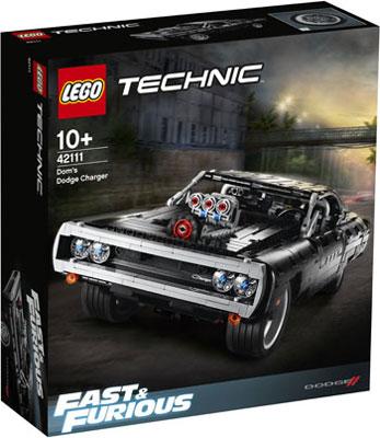 Фото - Конструктор Lego TECHNIC ''Dodge Charger Доминика Торетто'' lego lego speed champions mopar dodge srt dragster and 1970 dodge challenger t a