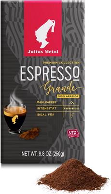 Фото - Кофе молотый Julius Meinl Грандэ Эспрессо 250 г 79563 кофе молотый julius meinl юбилейный 250 г