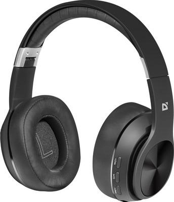 Фото - Накладные наушники Defender FreeMotion B540 черный Bluetooth (63540) наушники defender freemotion b555 63555 black