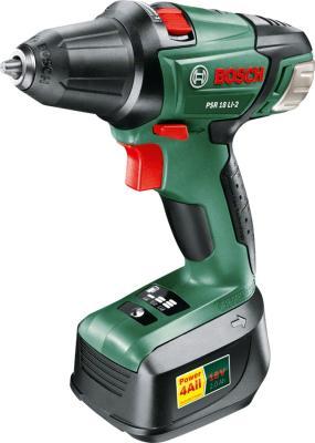 цена на Дрель-шуруповерт Bosch PSR 18 Li-2 (060397330 G)