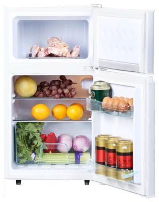 все цены на Двухкамерный холодильник TESLER RCT-100 White онлайн